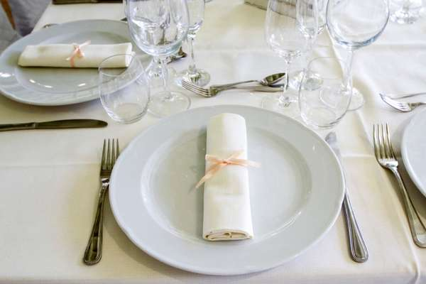 Banqueting: Mise en place