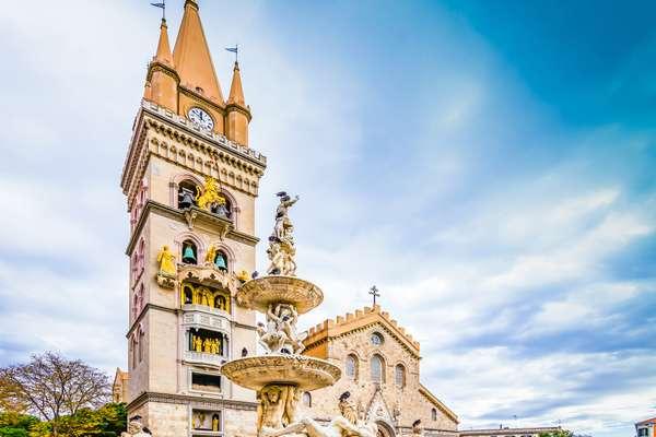 Messina orologio meccanico cattedrale