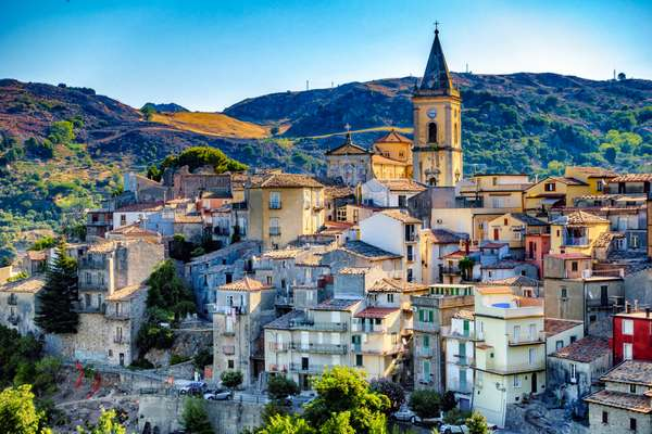 Novara di Sicilia panorama