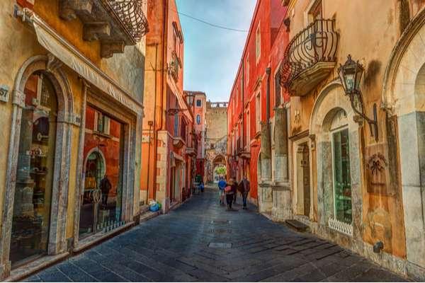 Taormina strada