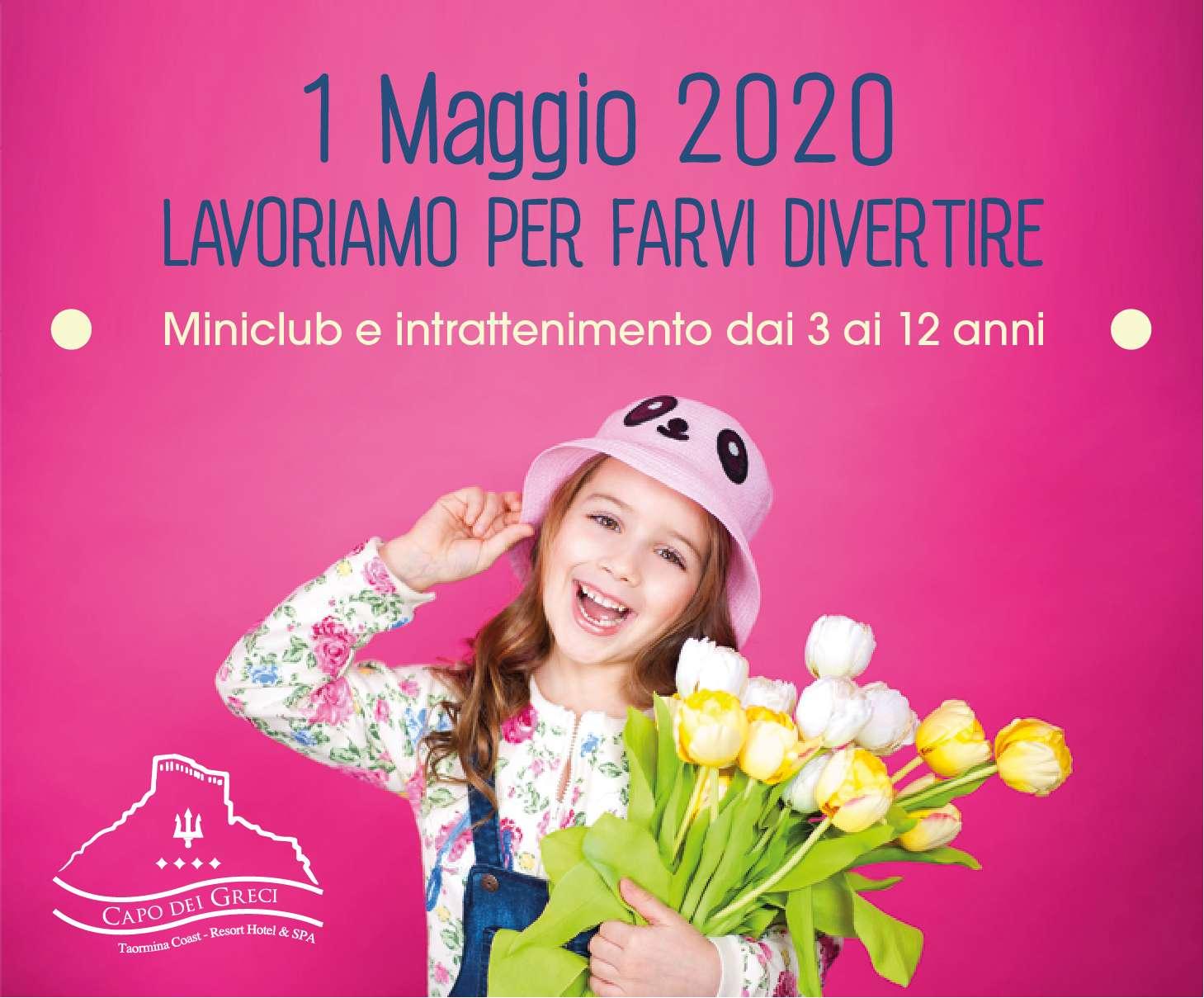 Programma Miniclub del 1° Maggio